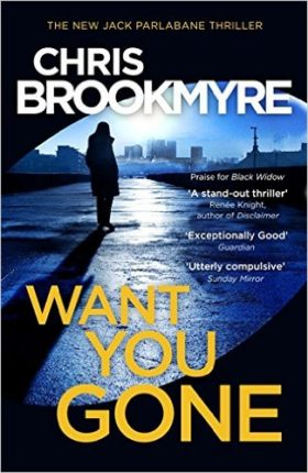 Want You Gone, Brookmyre, Parlabane, review