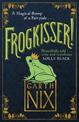 Frogkisser, garth nix, review