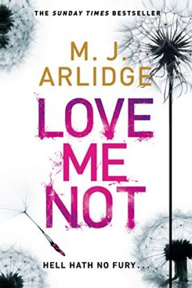 Love Me Not, mj arlidge, helen grace, review