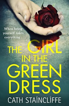 girl, green dress, review, cath Staincliffe,